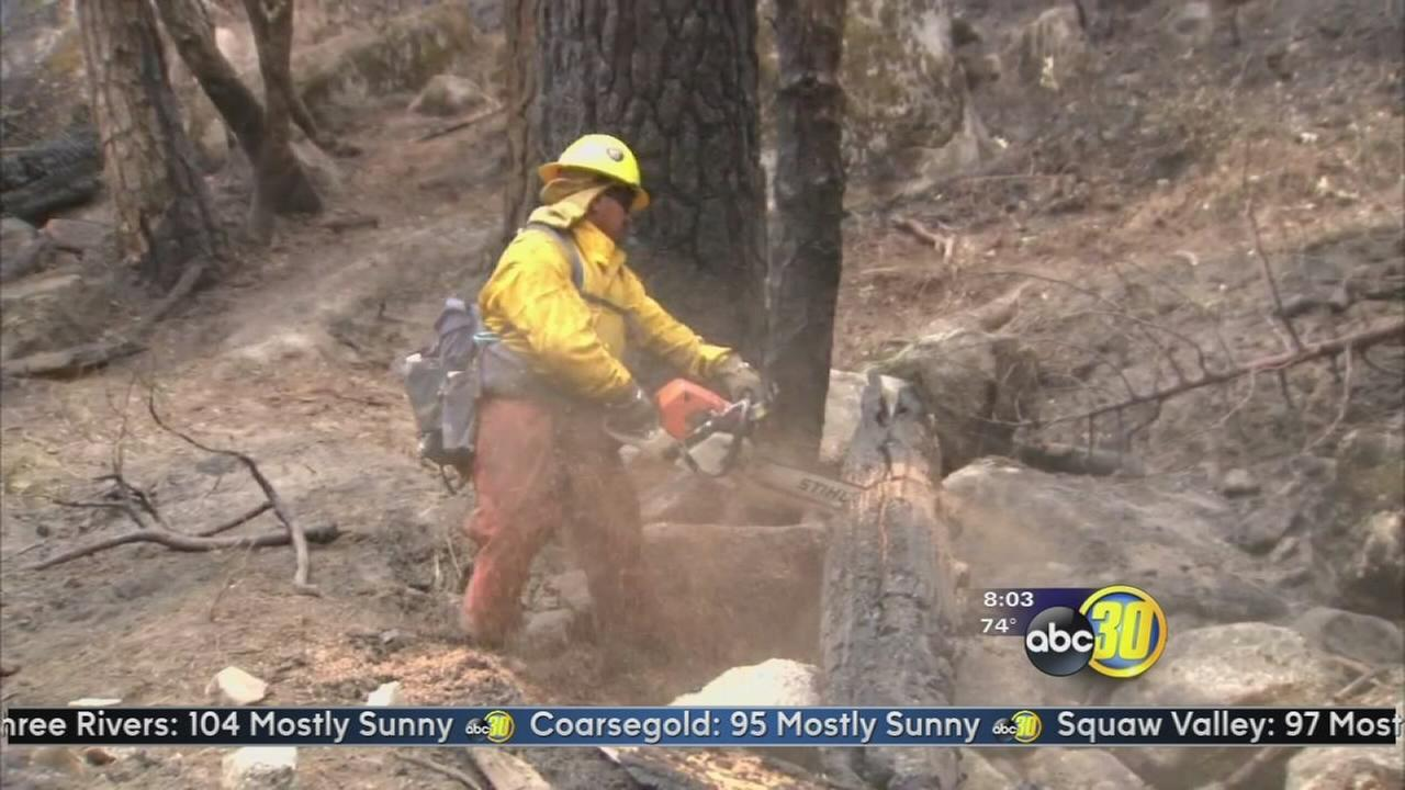 Willow Fire burns 5,116 acres, 50 percent contained