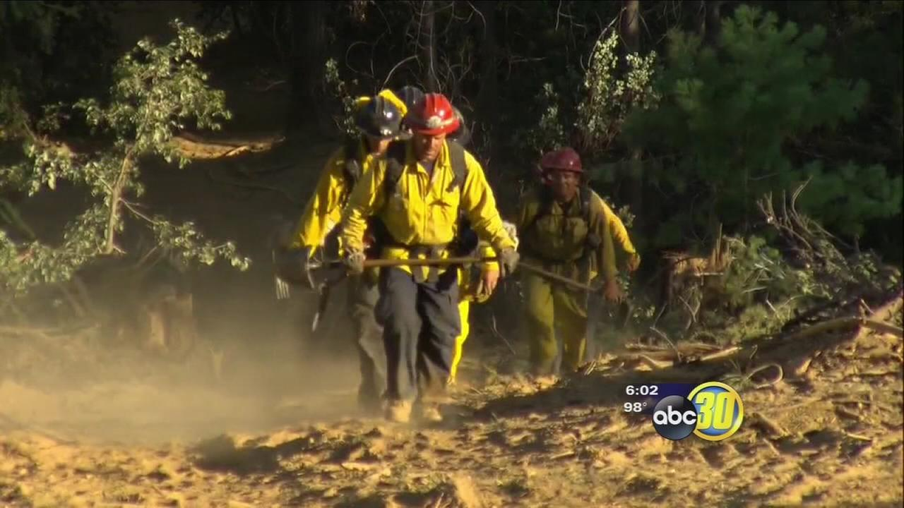 California firefighters stretched thin due to 21 fires burning across the state