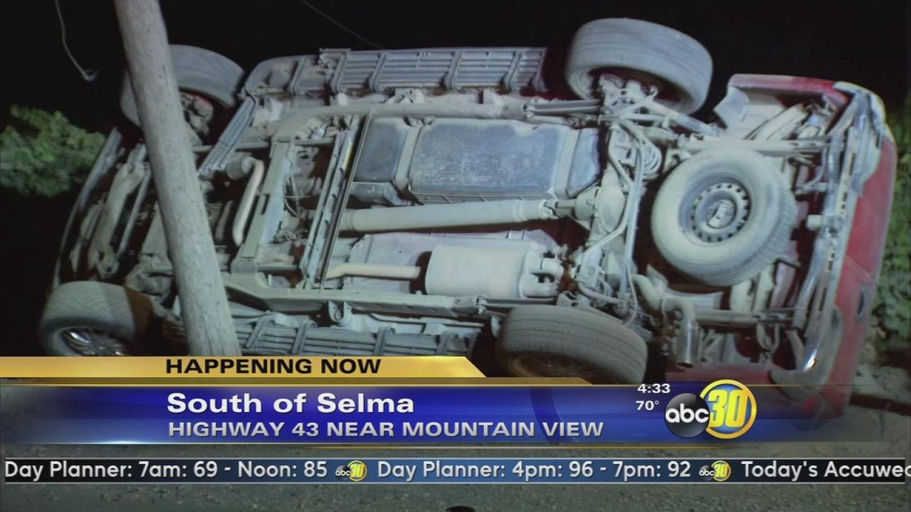 Man killed in crash near Selma