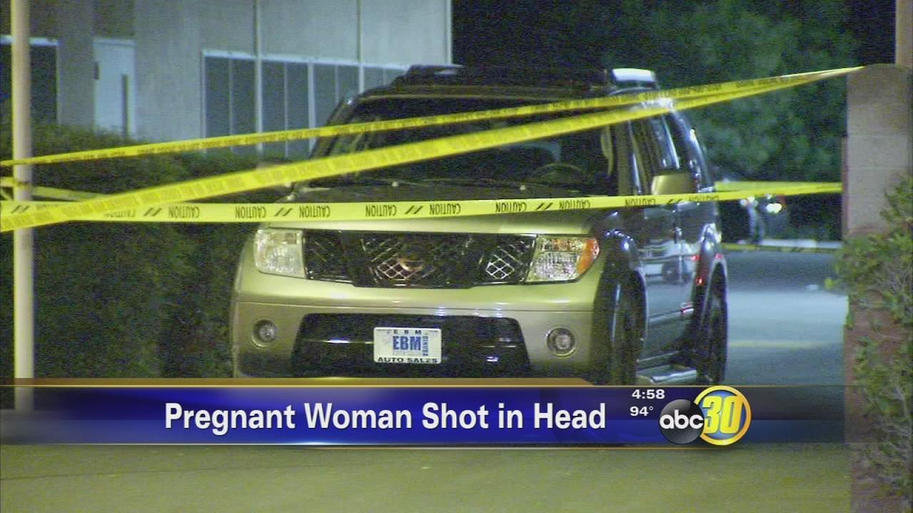 Pregnant woman shot in the head during road rage incident in Fresno