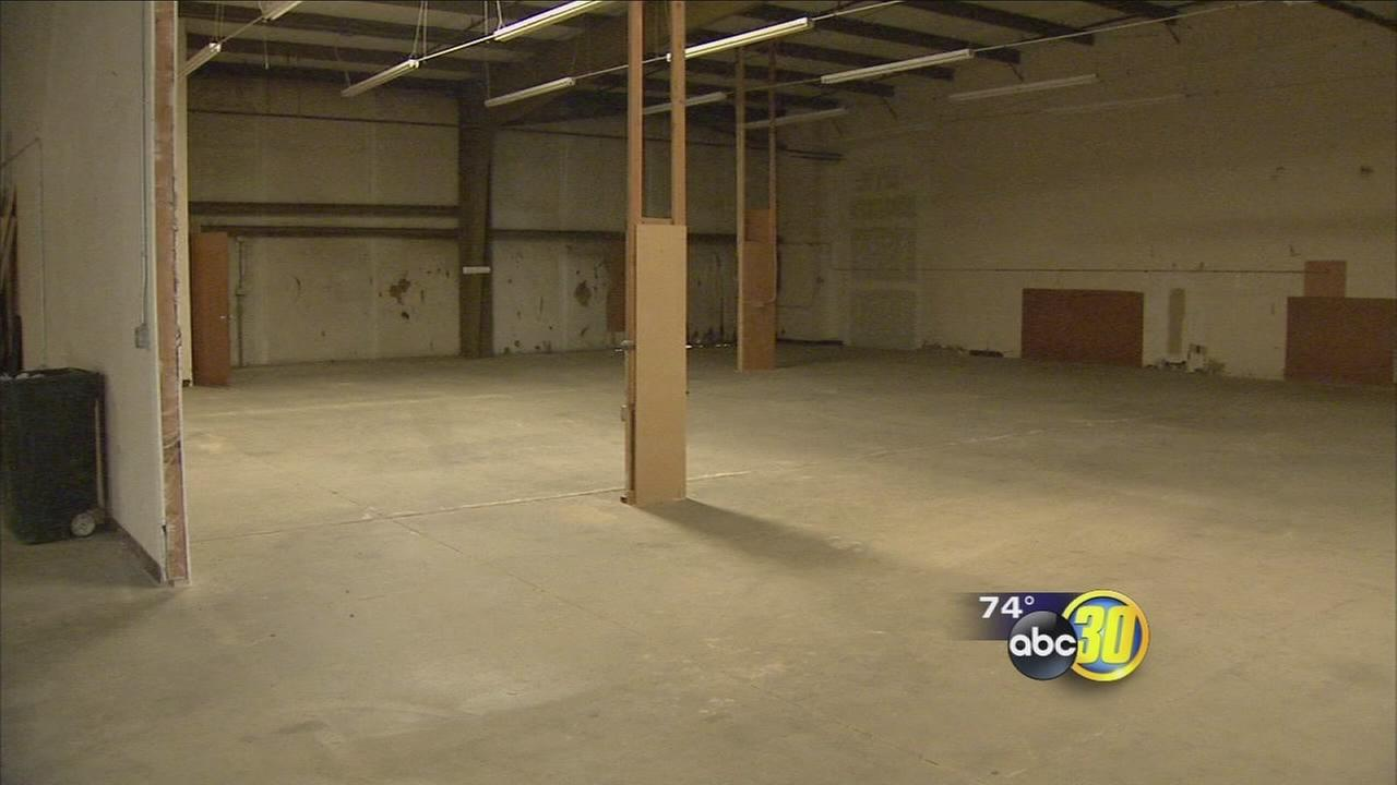 Business owner donates facility to kids theater company