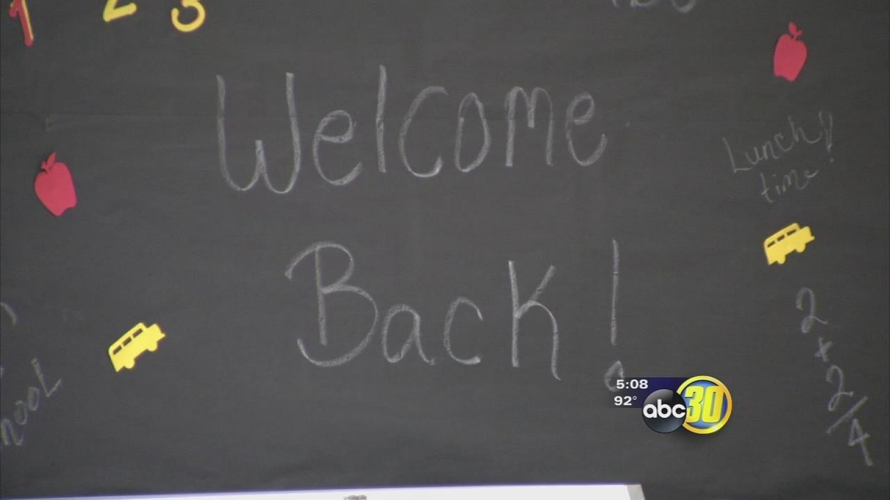 Central Unified prepares for 1st day of school