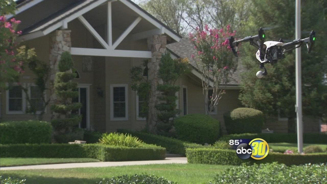 Drones taking real estate marketing to new heights