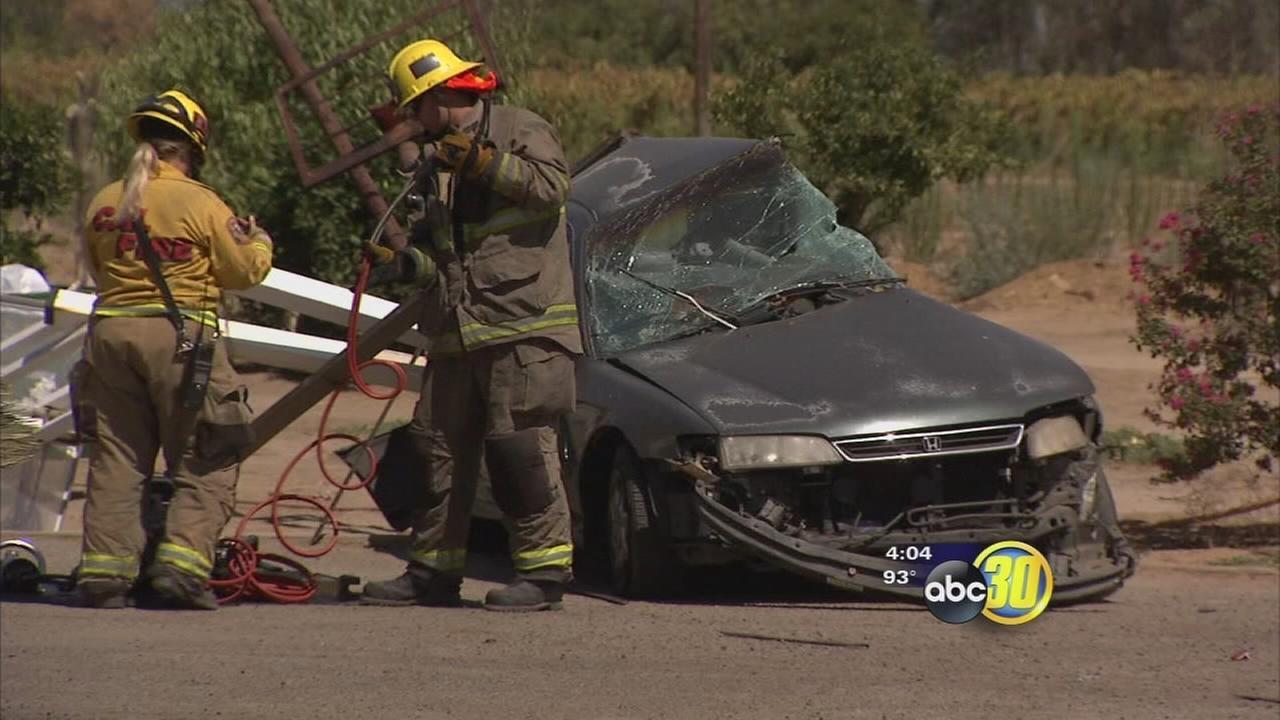 Car Crash In Delano Ca Today