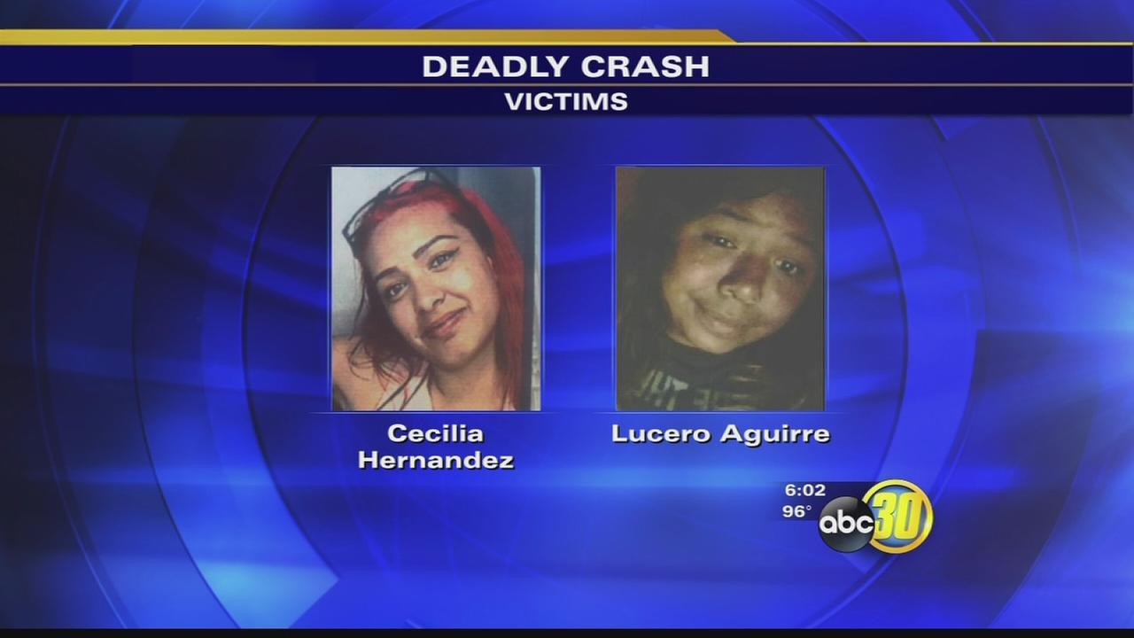Friant crash leaves 2 teenage girls dead