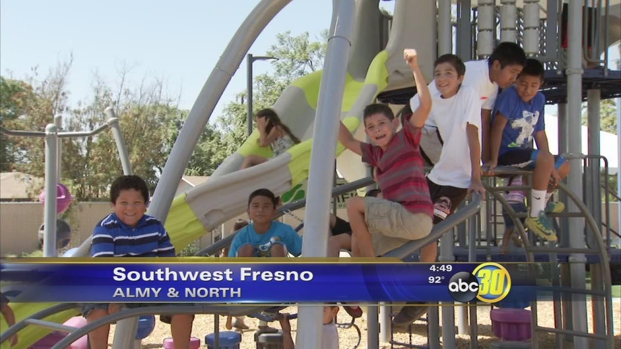 New park now open in Southwest Fresno
