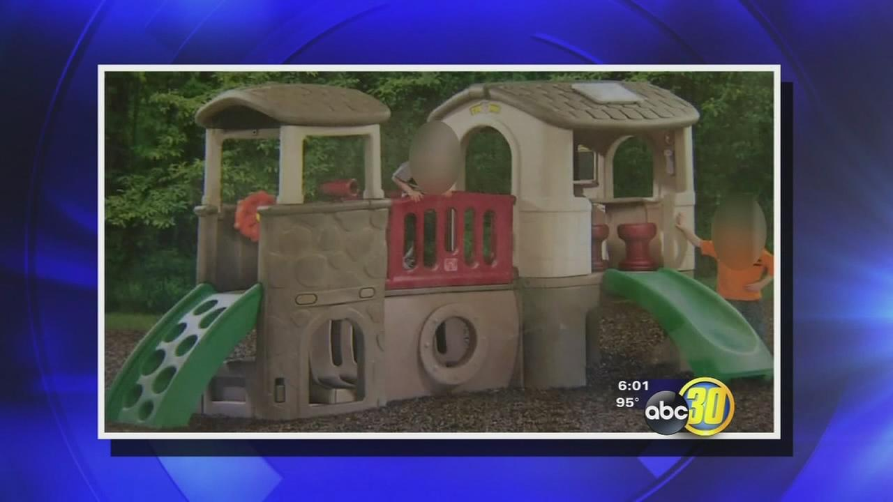 Playset stolen from United Cerebral Palsy in Hanford