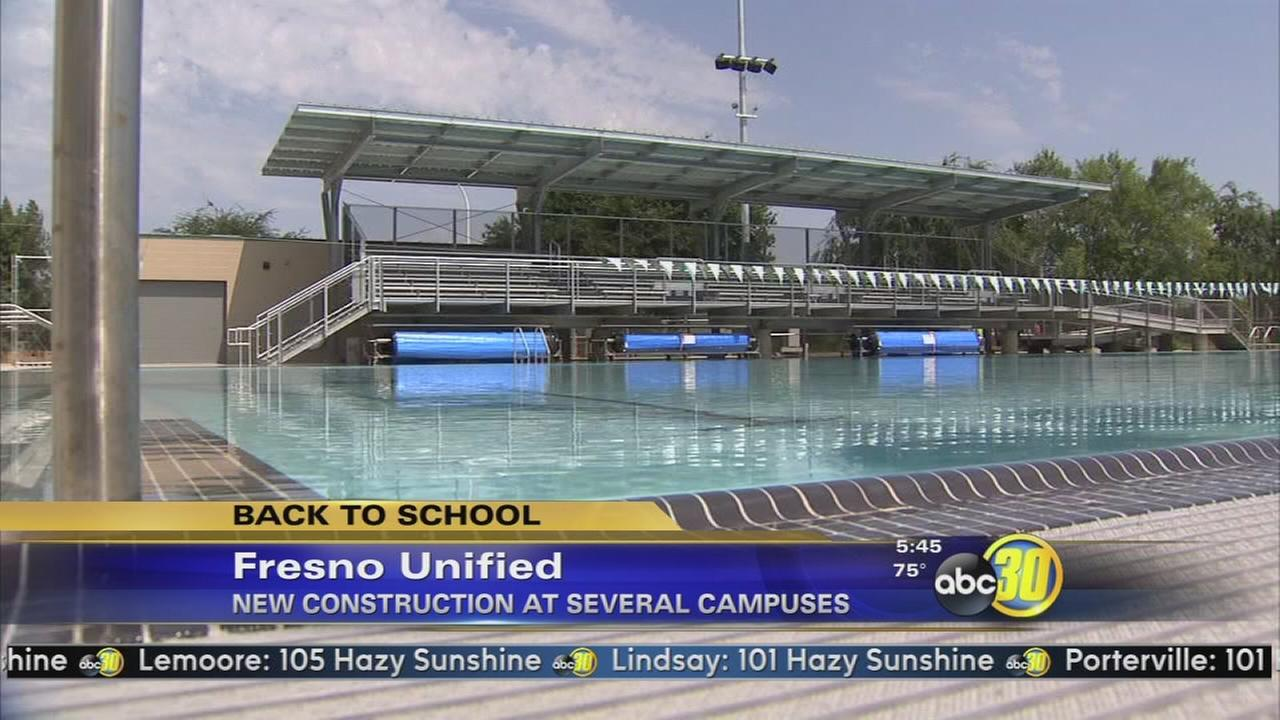 Fresno Unified starts school amid new construction