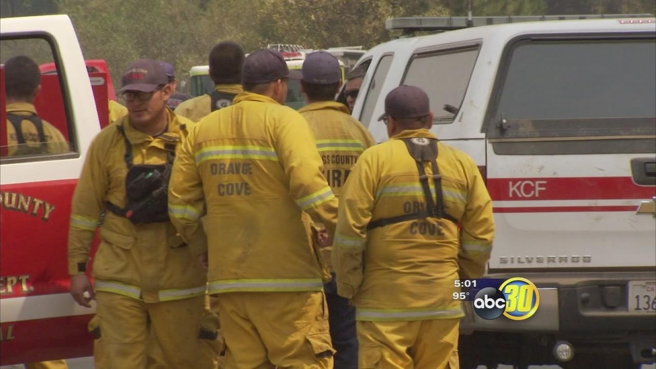 Rough Fire at nearly 40,000 acres at a cost of $12 million to fight
