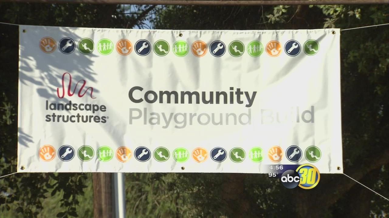 Community encouraged to help build playground near Fresno State