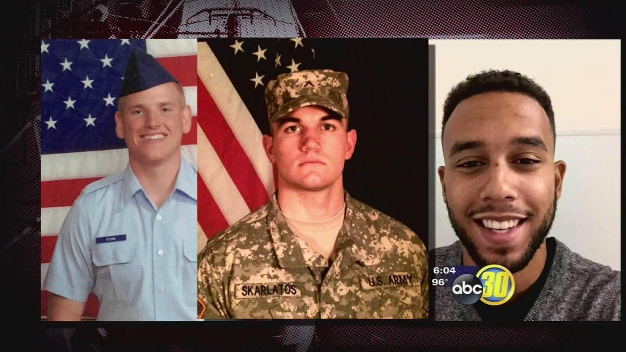 Relatives proud of 3 Americans who subdued gunman on train