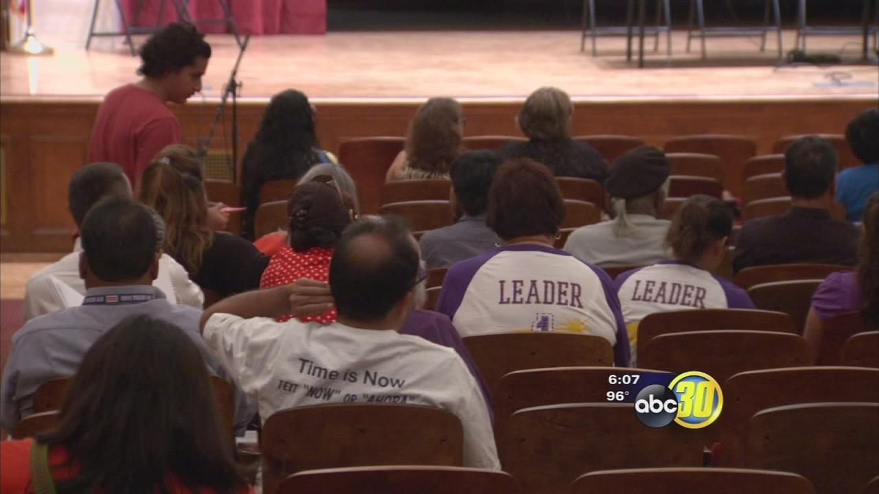 Debate over immigration reform comes to Fresno City College