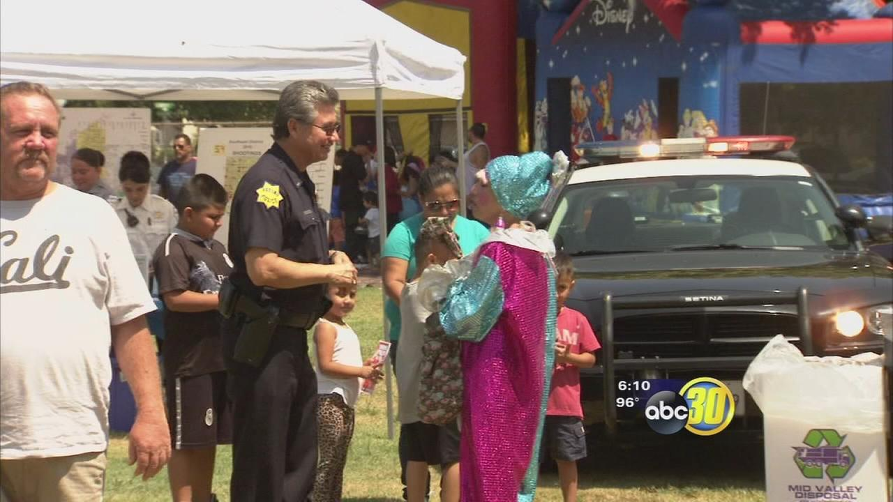 Block party held in Southeast Fresno in hopes of cutting crime