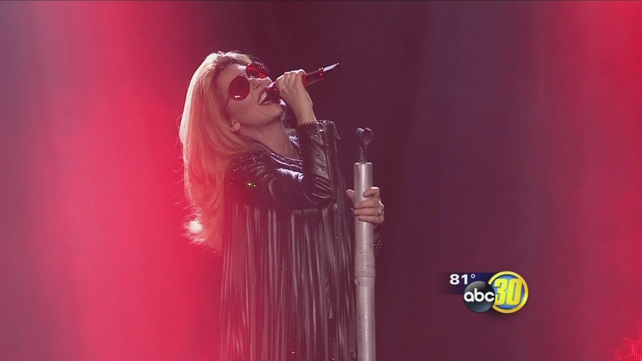 Shania Twain bids farewell to Valley with concert in Fresno