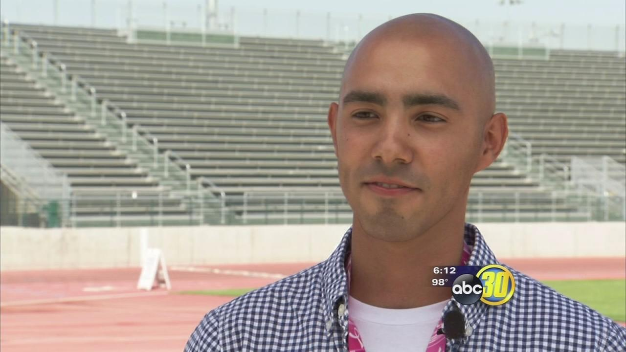 Bone cancer survivor starts senior year at Kingsburg High School