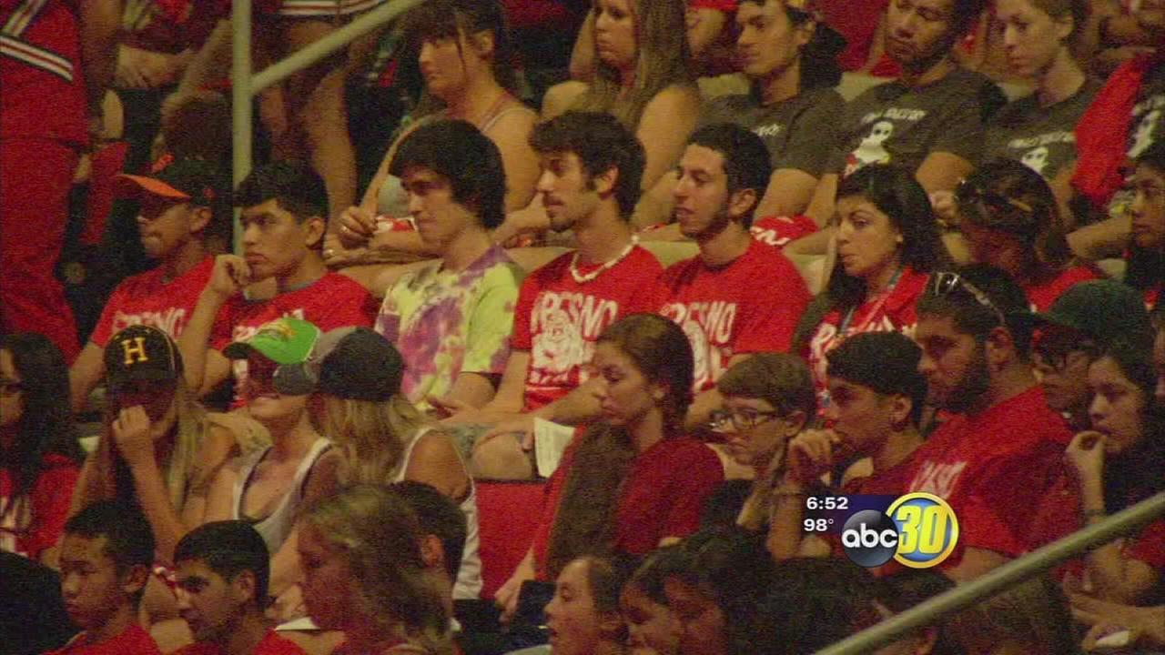 Fresno State welcomes new students with convocation at Save Mart Center