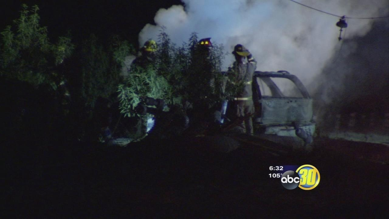 Baby saved from fiery crash that killed two adults in Fresno County