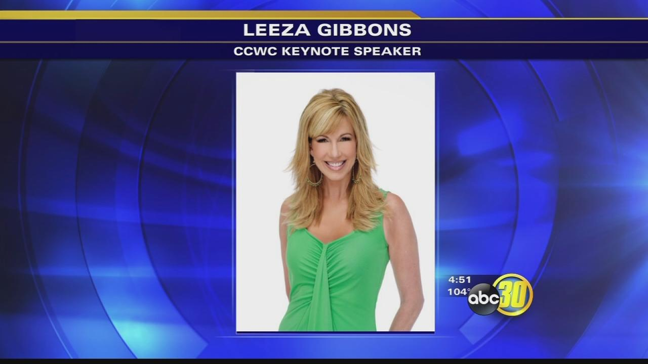 Leeza Gibbons named keynote speaker for Central California Womens Conference