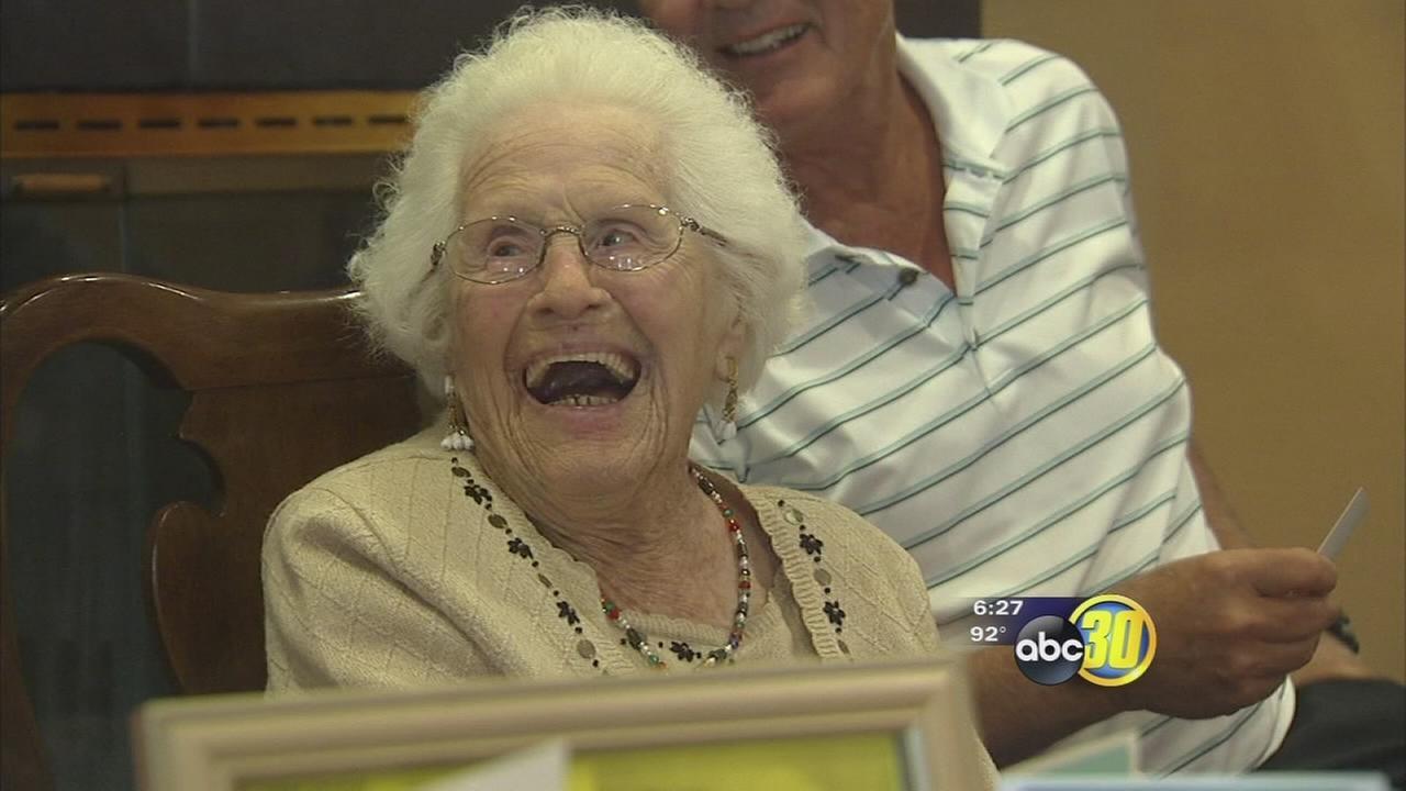 Woman celebrates 106th birthday in Fresno