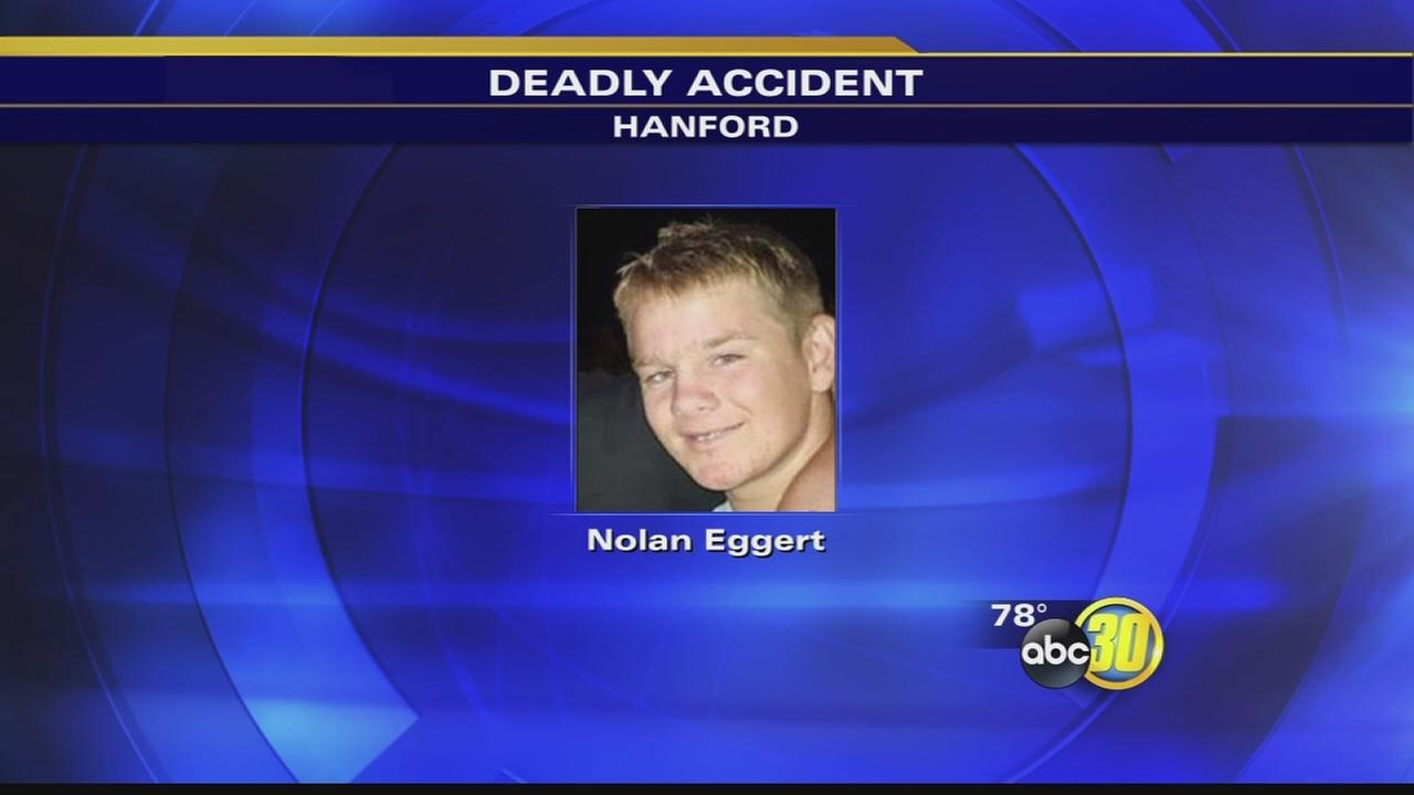 Boy, 16, struck and killed by car in Hanford
