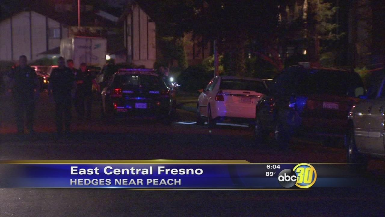 Man, 21, shot in the neck in East Central Fresno