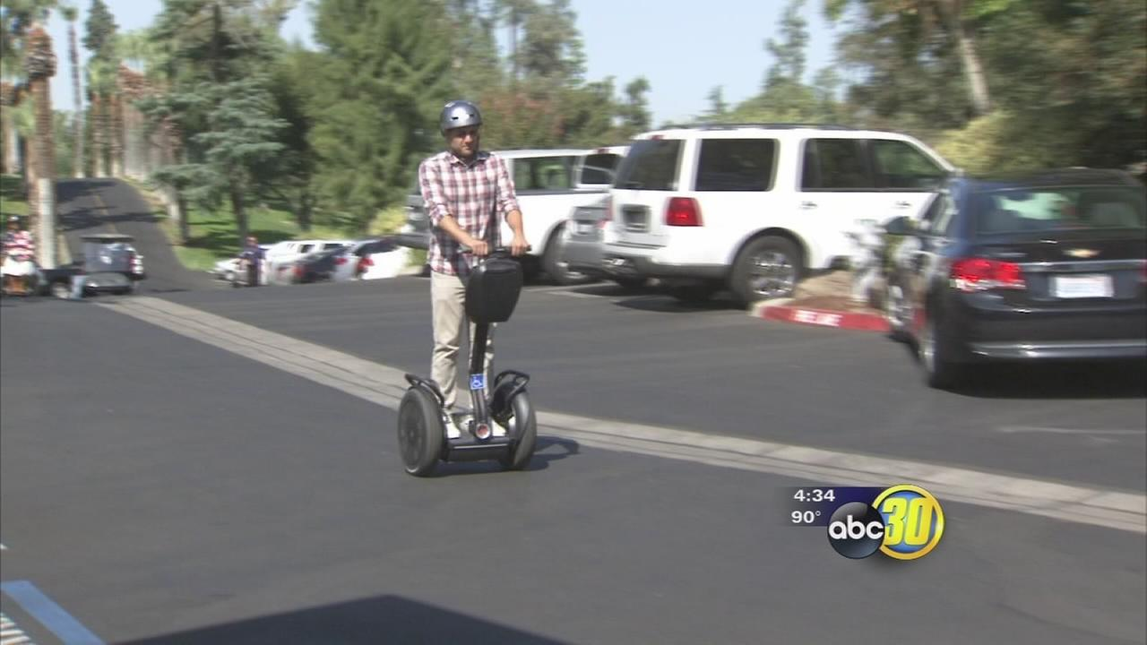 Donation helps veterans Segway back into life