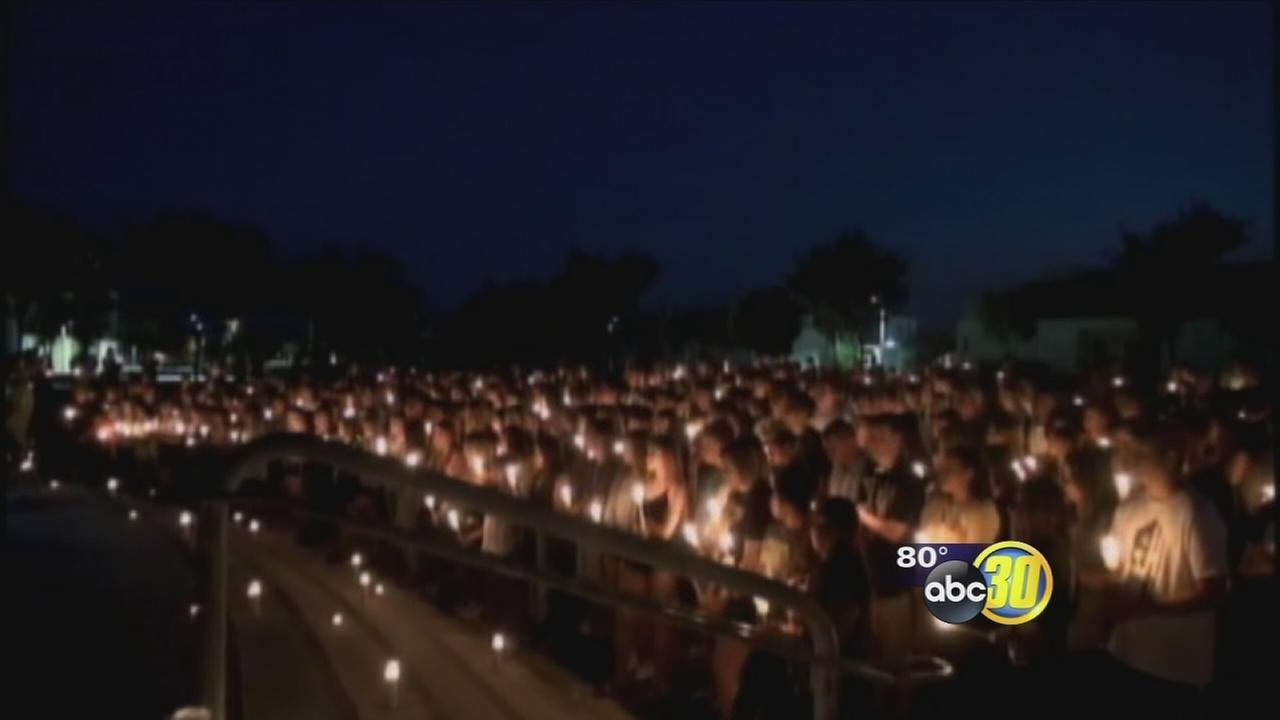Hundreds mourn teen hit, killed by car in Hanford