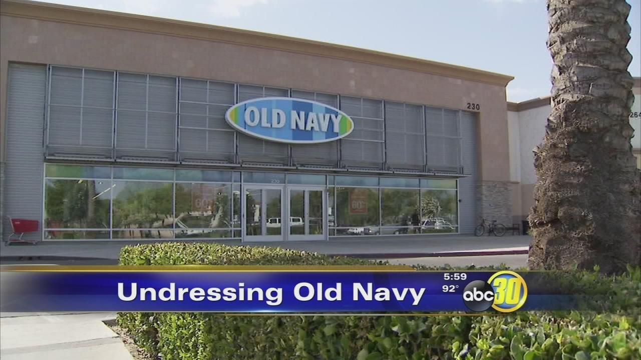 Lawsuit undresses Old Navy for dressing room videotaping