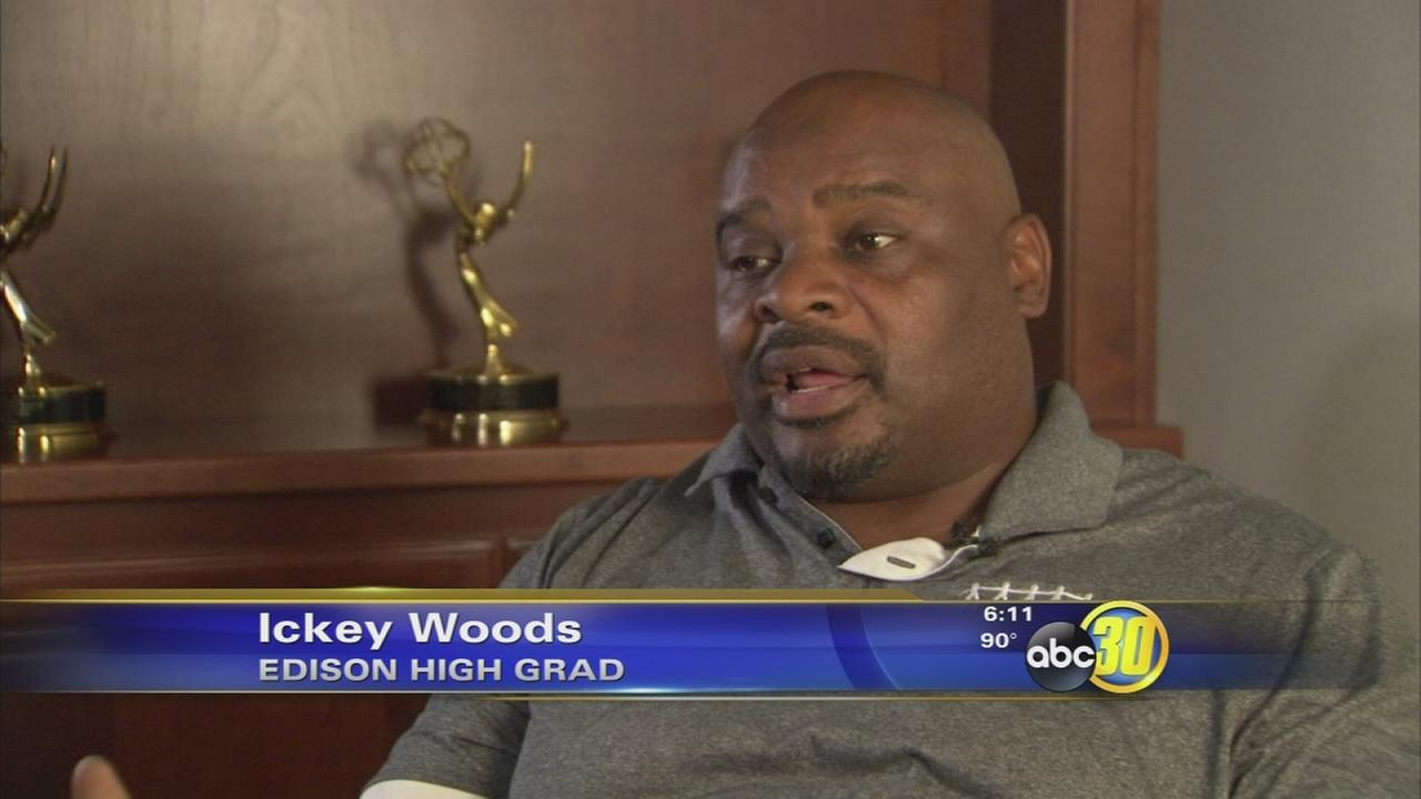 Personal loss spurs Ickey Woods to action