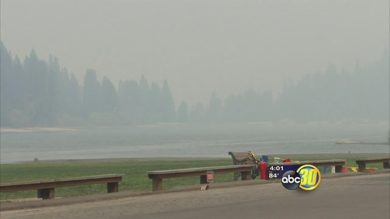Rough Fire remains at 25 percent containment