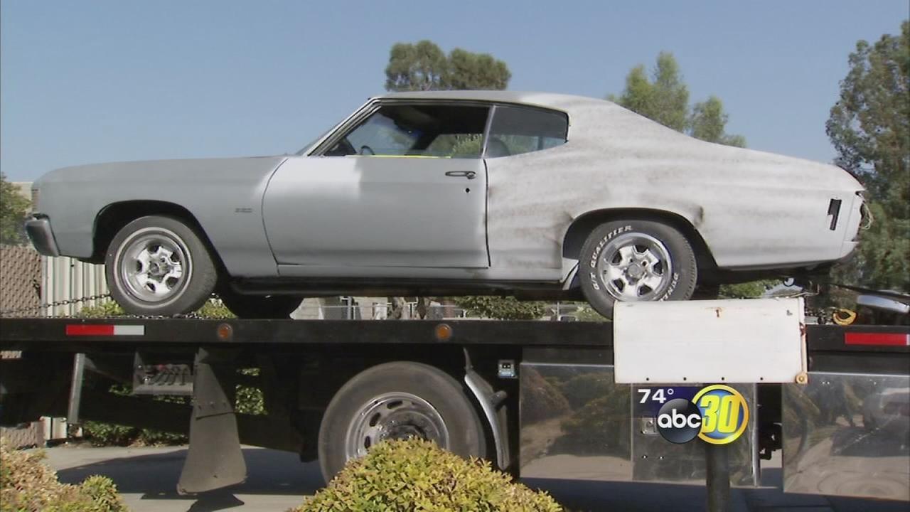 Fresno authorities recover stolen 1972 Chevrolet Chevelle