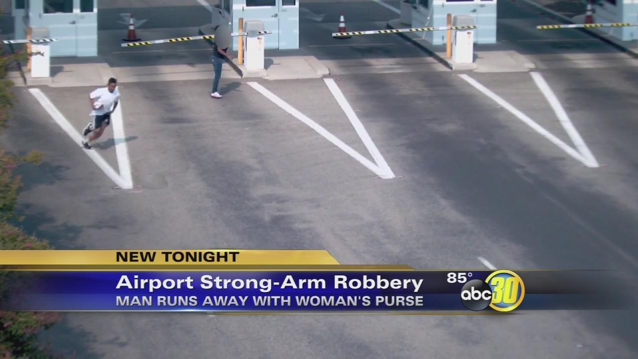 Authorities look for Fresno-Yosemite International Airport robbery suspect