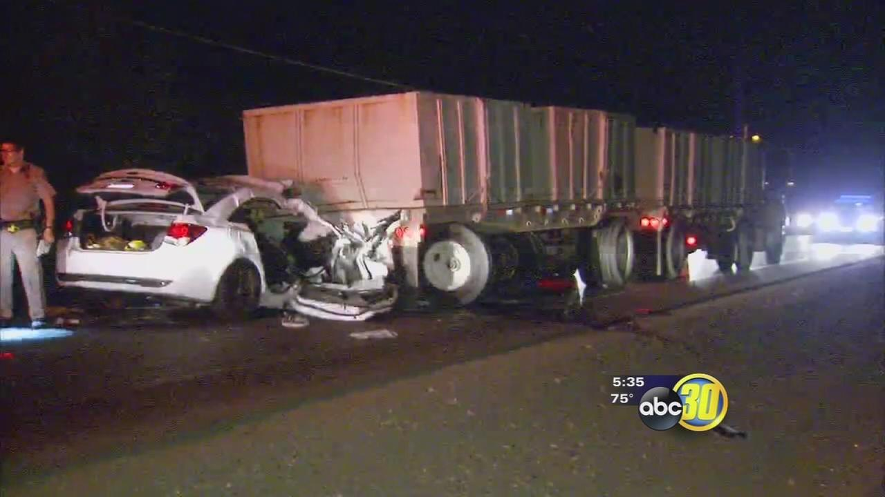 1 dead, 1 injured in Merced County accident