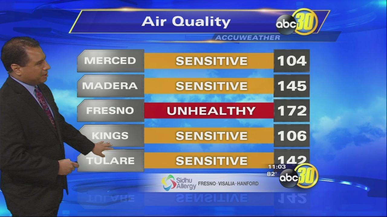 Smoke from the Rough Fire impacts air quality, school sports
