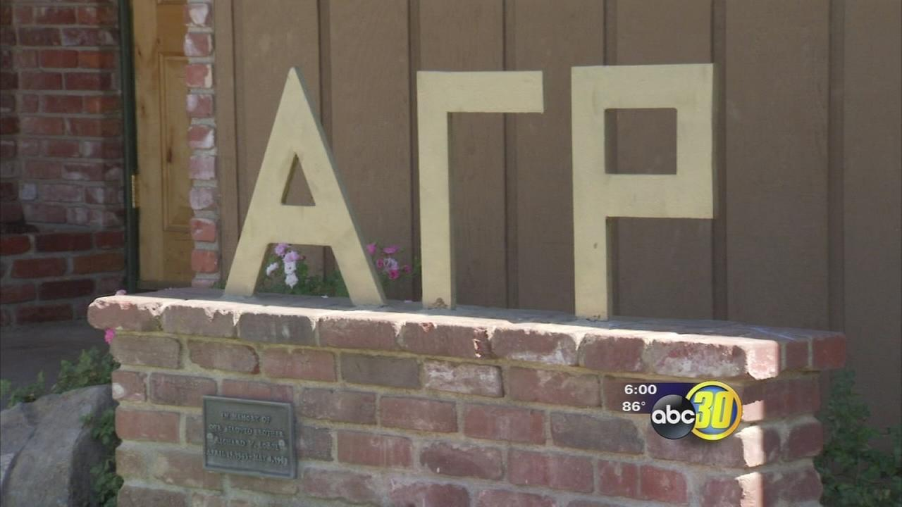 Fresno State suspends Alpha Gamma Rho fraternity for hazing activity