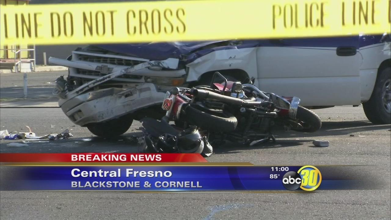 investigators are looking into the cause of a crash in central