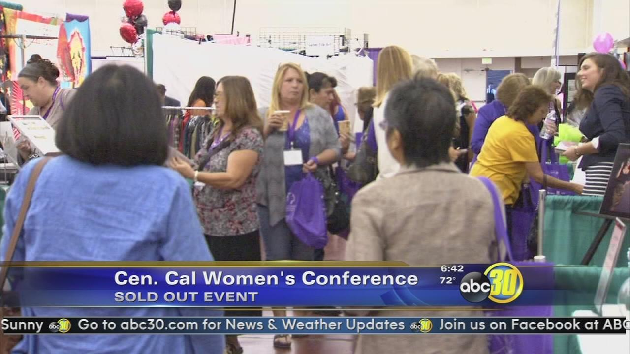 The 28th Annual Central California Womens Conference kicks off