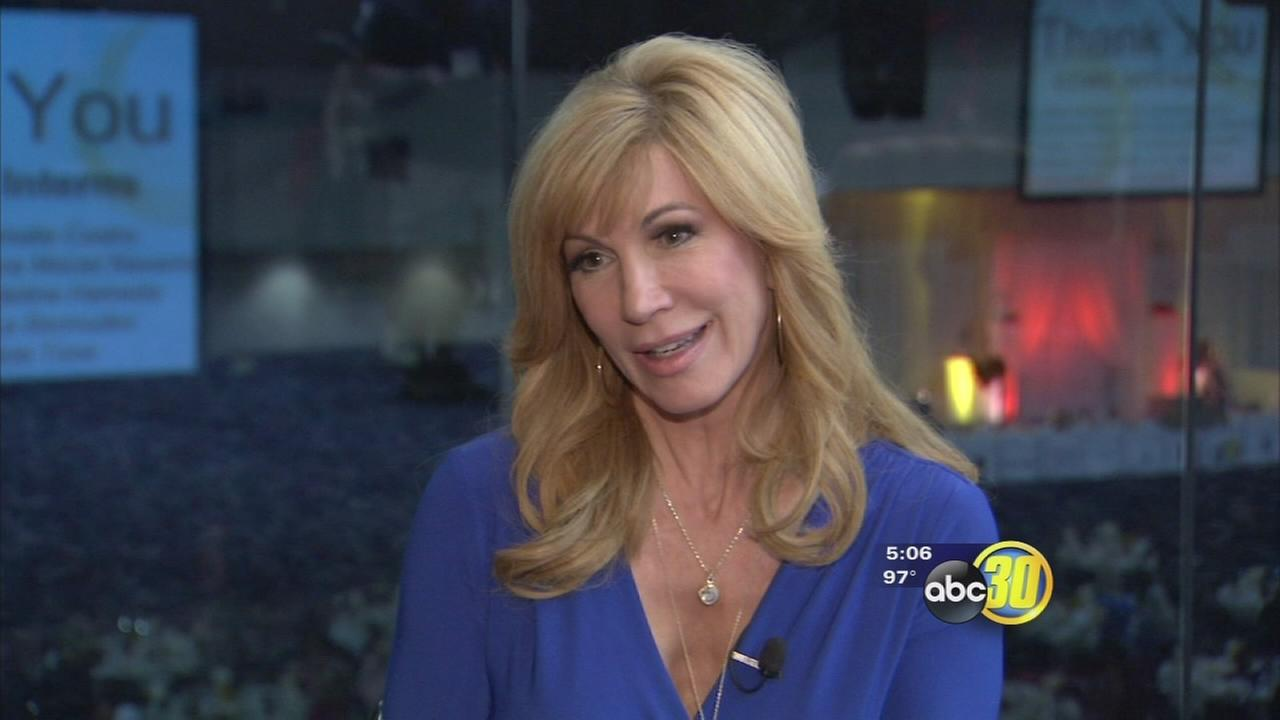 Leeza Gibbons talks with ABC30 at Central California Womens Conference