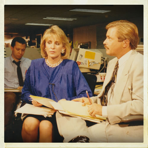 <div class='meta'><div class='origin-logo' data-origin='none'></div><span class='caption-text' data-credit='KGO'>Cheryl Jennings working in the newsroom in the wake of the Loma Prieta earthquake</span></div>