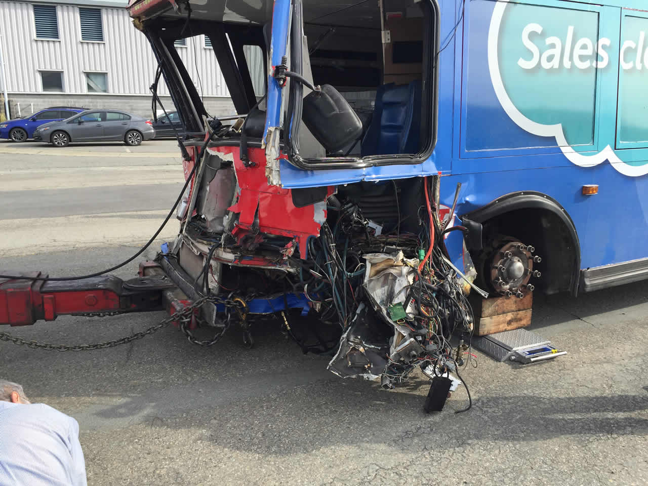 "<div class=""meta image-caption""><div class=""origin-logo origin-image none""><span>none</span></div><span class=""caption-text"">This photo taken Tuesday, January 12, 2016, shows the damage a tour bus sustained after a crash in San Francisco's Union Square on Friday, November 13, 2015. (Photo courtesy of the San Francisco Police Department.)</span></div>"