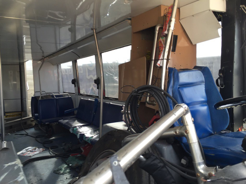 "<div class=""meta image-caption""><div class=""origin-logo origin-image none""><span>none</span></div><span class=""caption-text"">This photo taken Tuesday, January 12, 2016, shows the inside of a tour bus that crashed in San Francisco's Union Square on Friday, November 13, 2015. (Photo courtesy of the San Francisco Police Department.)</span></div>"