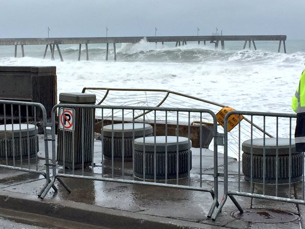 <div class='meta'><div class='origin-logo' data-origin='none'></div><span class='caption-text' data-credit='KGO-TV'>Rough surf took out the railing along Beach Street in Pacifica, Calif. on Friday, January 22, 2016.</span></div>