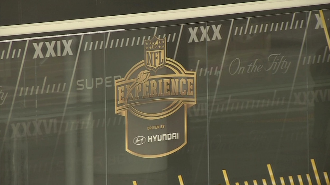 <div class='meta'><div class='origin-logo' data-origin='none'></div><span class='caption-text' data-credit='KGO-TV'>Super Bowl 50 has the Bay Area buzzing!  Preparations are underway all around San Francisco on Tuesday, Jan. 26, 2016.</span></div>