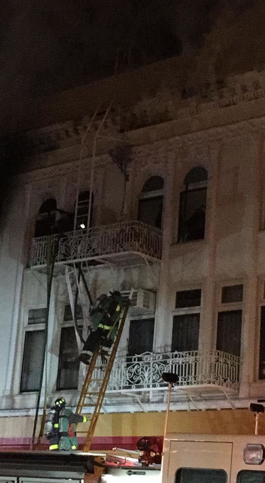 <div class='meta'><div class='origin-logo' data-origin='KGO'></div><span class='caption-text' data-credit=''>A fire burns in the Mission District neighborhood of San Francisco, Calif. on Jan. 28, 2015. (Photo by Edwin via Facebook)</span></div>