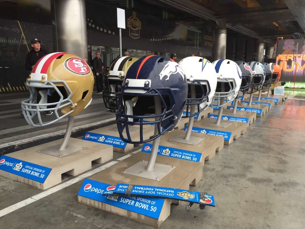 <div class='meta'><div class='origin-logo' data-origin='none'></div><span class='caption-text' data-credit='KGO-TV/Lyanne Melendez'>Football props at NFL Experience in San Francisco on Sunday, Jan. 30, 2016.</span></div>
