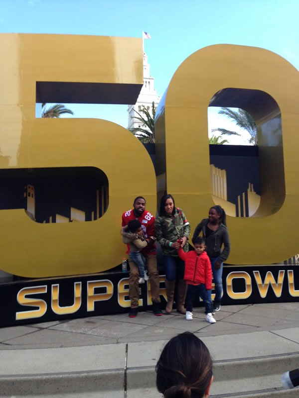 <div class='meta'><div class='origin-logo' data-origin='none'></div><span class='caption-text' data-credit=''>San Francisco 49er Torrey Smith poses at Super Bowl City, Jan. 30, 2016.</span></div>
