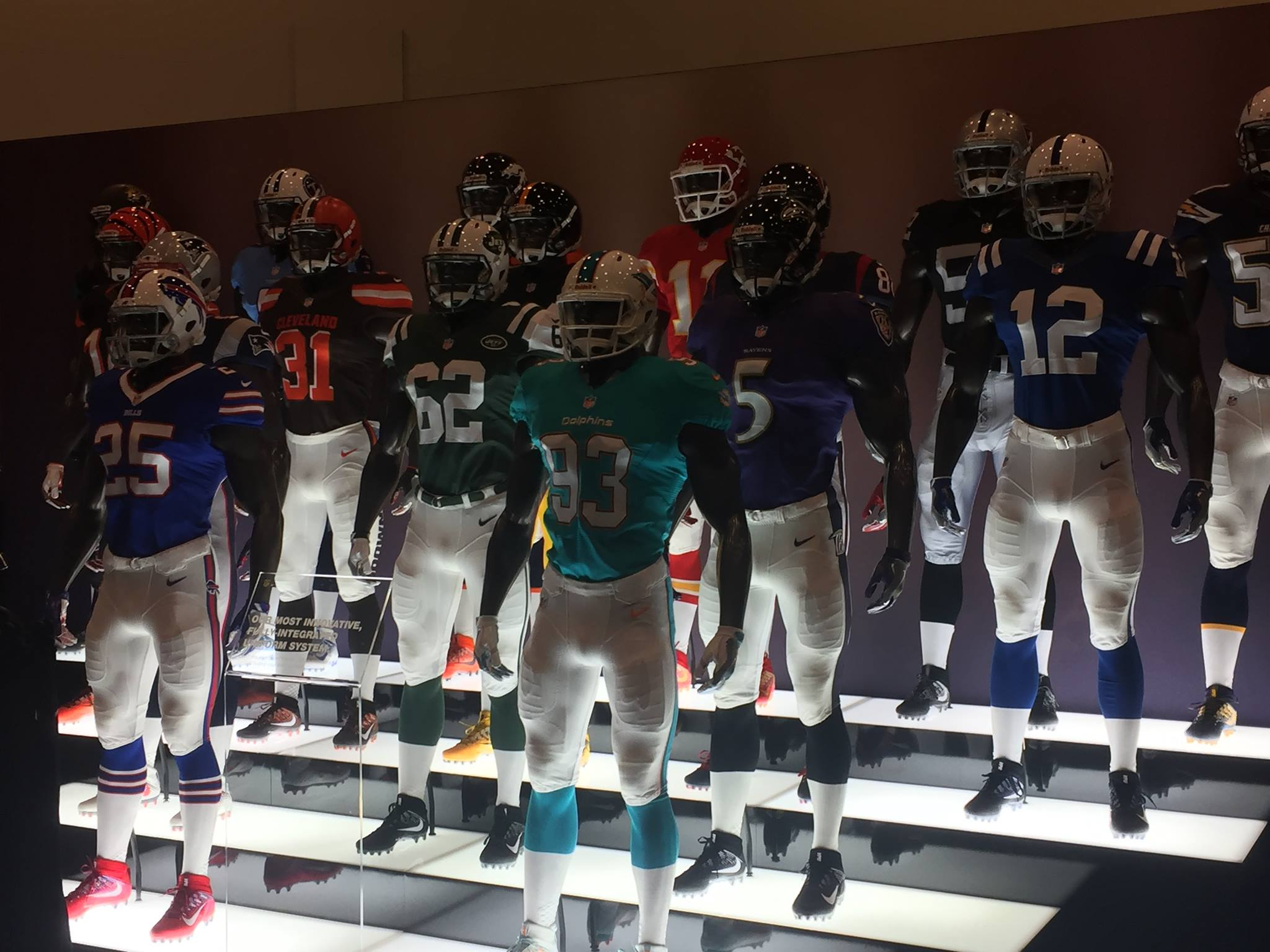 <div class='meta'><div class='origin-logo' data-origin='none'></div><span class='caption-text' data-credit='KGO-TV'>NFL jerseys on display at NFL Experience in San Francisco, Sunday, January 31, 2016.</span></div>
