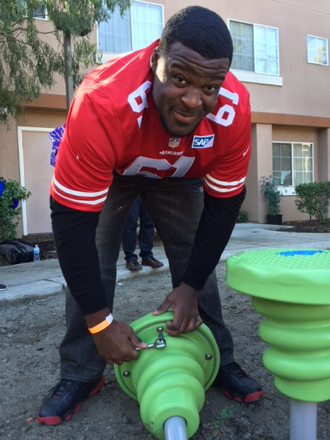 "<div class=""meta image-caption""><div class=""origin-logo origin-image none""><span>none</span></div><span class=""caption-text"">San Francisco 49ers were among the volunteers in action at the KaBOOM! playground build in San Jose, Calif. on Tuesday, February 2, 2016. (KGO-TV)</span></div>"