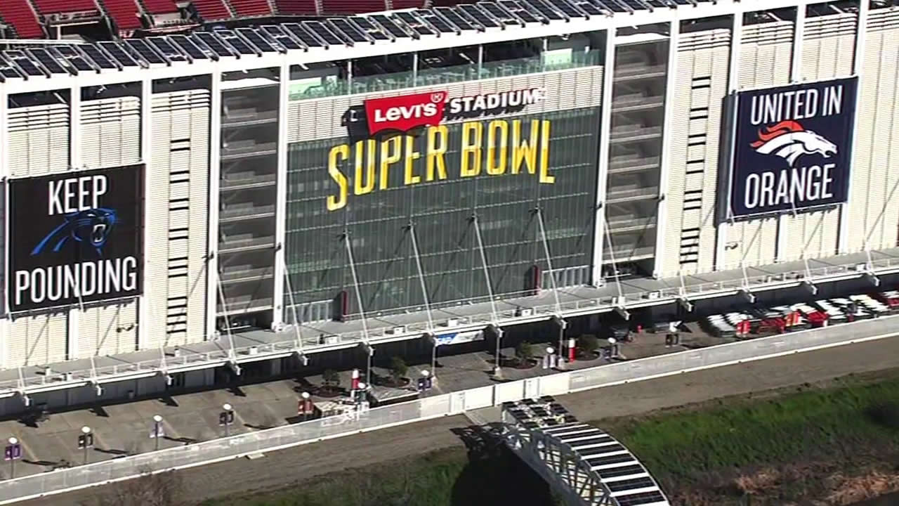 <div class='meta'><div class='origin-logo' data-origin='none'></div><span class='caption-text' data-credit='KGO-TV'>Levi's Stadium preparing for Super Bowl game day on Tuesday, Feb. 2, 2016.</span></div>