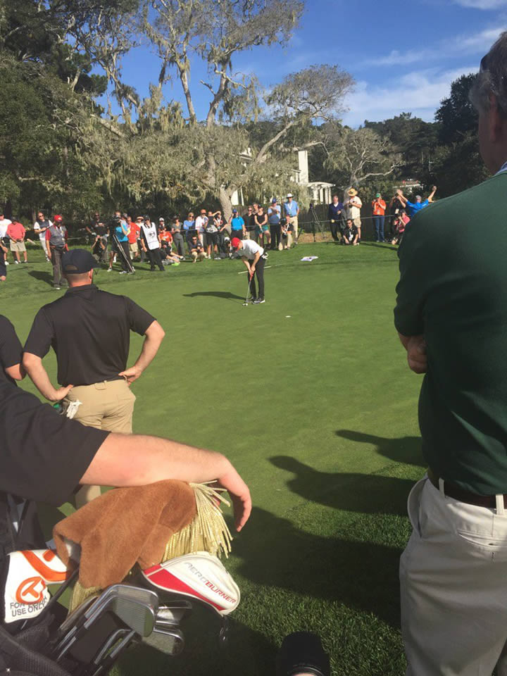 <div class='meta'><div class='origin-logo' data-origin='none'></div><span class='caption-text' data-credit='KGO-TV/Mike Shumann'>San Francisco Giants great Steve Young is seen at the AT&T Pebble Beach Pro-Am in Pebble Beach, Calif. on Tuesday, February 9, 2016.</span></div>